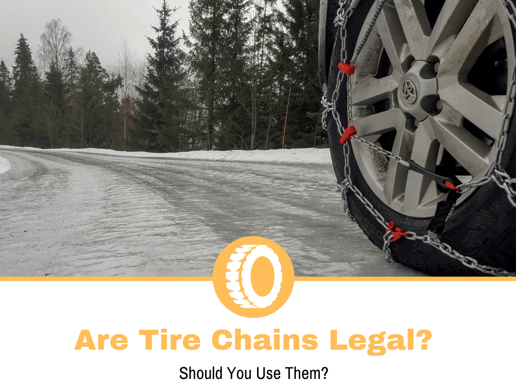 are tire chains legal?