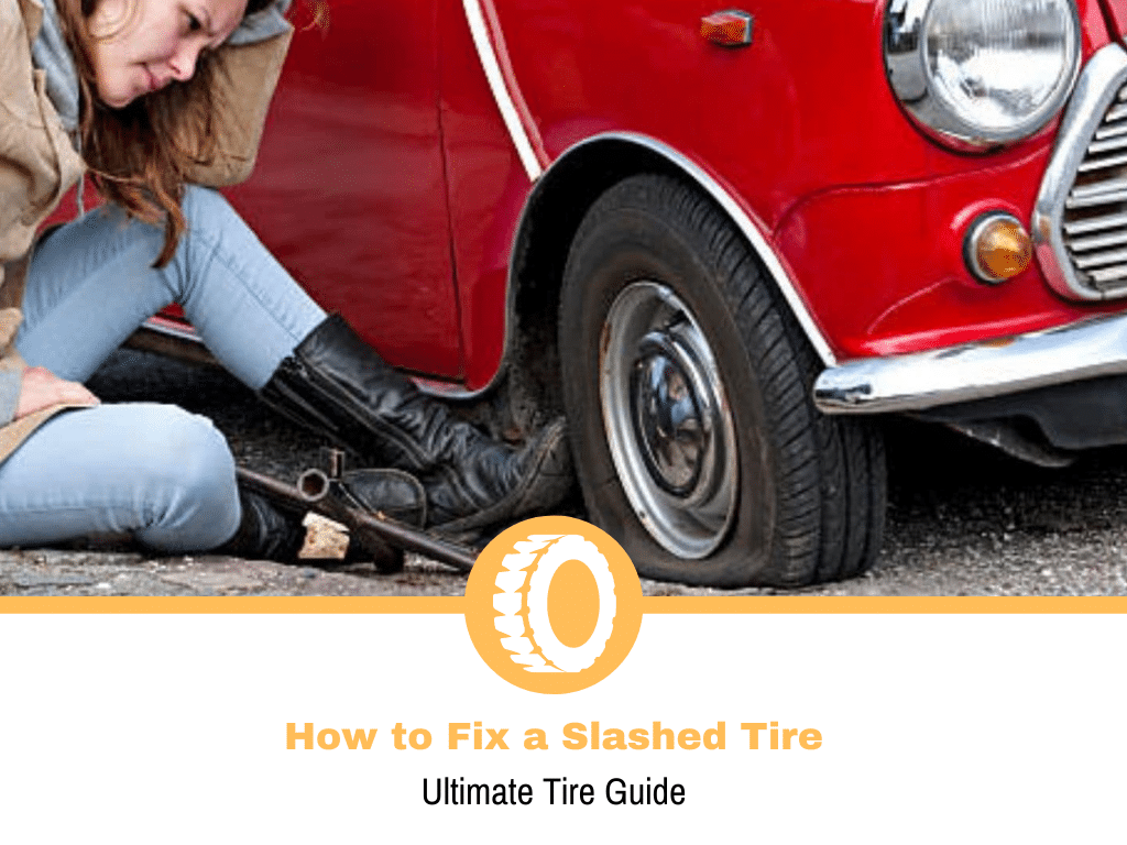 How to Fix a Slashed Tire