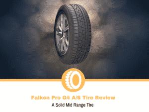 Falken Pro G4 A/S Tire Review